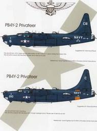 US Navy Lockheed PB4Y-2 Privateers #BMD72049