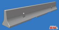 Concrete K-Rail Barriers #BLM4107