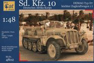 Blue Cat Models  1/48 Sd.Kfz.10 Demag DAK/Afrika Korps (German half track) BCM48002