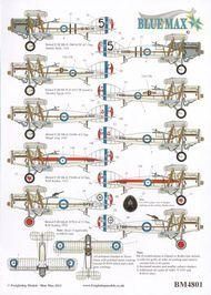 Blue Max  1/48 Inter-War Bristol F.2B Fighter x 5 options BM4801