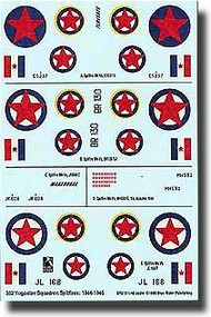 Blue Rider  1/48 Yugoslav Partisan Spitfires BR519