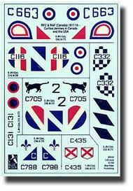 Blue Rider  1/48 WW I RFC/RAF Canada Jennies BR520
