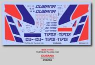 Tupolev Tu-204-100 Cubana #BOA144110
