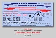 Boa Decals  1/144 Avia AV-14/24 Ilyusion Il-14 (early version) - Pre-Order Item BOA144123