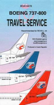 Boeing 737-800 Travel Service #BOA14478