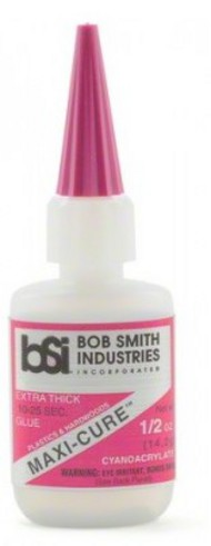 BOB SMITH INDUSTRIES   N/A Maxi-Cure Extra Thick CA Glue .5oz BSI111