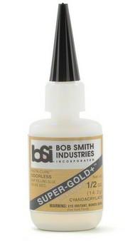 BOB SMITH INDUSTRIES   N/A Super-Gold+ Gap Filling CA Glue .5oz BSI126