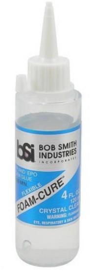 Bob Smith Industries  No Scale Flexible Foam-Cure EPP & EPO Glue 4oz BSI142