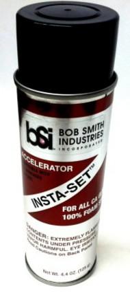 Bob Smith Industries  No Scale Insta-Set CA Glue Accelerator Aerosol Spray 6.75fl.oz BSI155