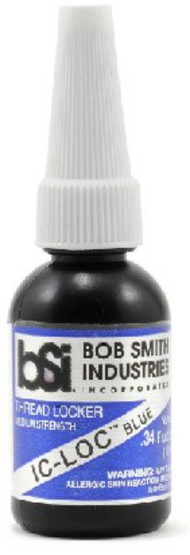 Bob Smith Industries  No Scale IC-LOC Blue Medium Strength Thread Locker 1/3oz BSI171