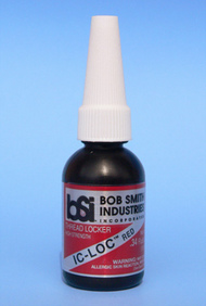Bob Smith Industries  No Scale Ic-Loc Red 1/3oz BSI173