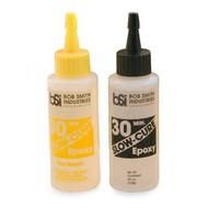 BOB SMITH INDUSTRIES   N/A Slow-Cure 30-Miniute Epoxy 4.5oz BSI205