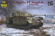 Border Models  1/35 Pz.Kpfw.IV Ausf.G mid/late - Pre-Order Item BRM35001