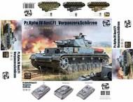 Panzer Pz.Kpfw.IV Ausf.F1 Vorpanzer & Schurzen (3in1) #BRM35003