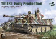 Tiger I SdKfz 181 PzKpfw VI Ausf E Early Production Tank Battle of Kursk - Pre-Order Item #BRM35010