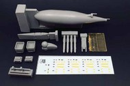 Lockheed KC-130J Harvest Hawk resin conversion set #BRL72172