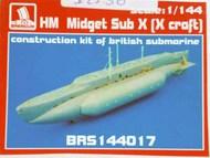HM Midget Sub X (UK submarine, full kit) #BRS144017