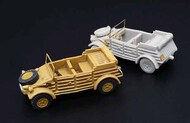 Brengun Models  1/144 Kubelwagen (2pcs) Resin construction kit of German military car BRS144052