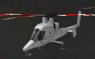 Kaman K-MAX Resin construction kit of U.S. helicopter #BRS48016