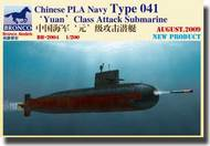 Bronco Models  1/200 Chinese Navy Type 041 (Yuan) Class Attack Submarine BOM2004