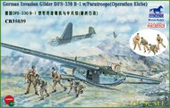 Bronco Models  1/35 DFS 230B-1 Glider with Dragon Paratrooper fig BOM35039
