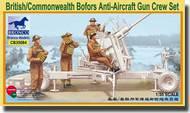 Bronco Models  1/35 British Commonwealth Bofors Anti-Aircraft Gun Crew Set (6 Figures Set) BOM35084