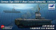 Bronco Models  1/35 German U-Xxiii Coastal Sub BOM35104
