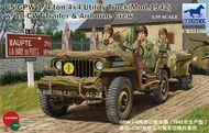 US GPW 1/4-ton w/ trailer #BOM35106