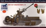 Bronco Models  1/35 OQF 40mm Bofors Anti-Aircraft Gun Mk.I/I BOM35111