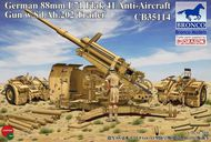 Bronco Models  1/35 8.8cm L71 Flak41 Anti-Aircraft Gun with BOM35114