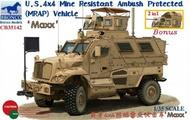 Bronco Models  1/35 4x4 Mine Resistant Ambush Protected (MRAP) Ma - Pre-Order Item BOM35142