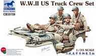 Bronco Models  1/35 US Truck Crew WW-II BOM35159