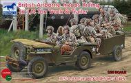 Bronco Models  1/35 Brit Airborne Troops in Truck BOM35169