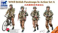 Bronco Models  1/35 WW2 British Paratroops in Action Set A BOM35177