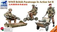 Bronco Models  1/35 WW2 British Paratroops in Action Set B BOM35192