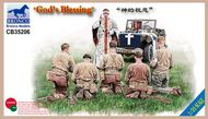 Bronco Models  1/35 God's Blessing' US infantry (WWII) BOM35206