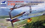 North American F-51D Mustang Korean War #BOM4012
