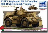 Bronco Models  1/48 T17E1 Staghound Mk.I/ Candian 60lb Rocket Launch Version BOM48003