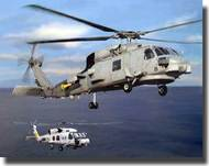Bronco Models  1/350 SH-60B/J Anti-Submarine Seahawk Helicopters BOM5003