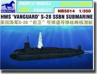Bronco Models  1/350 HMS Vanguard S28 SSBN Submarine BOM5014
