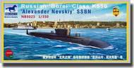 """Bronco Models  1/350 Russian """"Borei"""" Class K550 """"Alexander Nevskiy"""" SSBN BOM5023"""