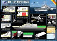 Bronco Models  1/350 USS 'Fort Worth' (LCS-3) BOM5028