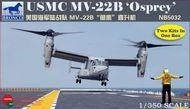 Bronco Models  1/350 Bell-Boeing MV-22B Osprey BOM5032
