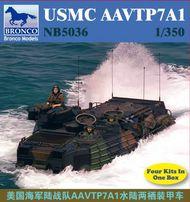 Bronco Models  1/350 USMC AAVTP-7A1 BOM5036