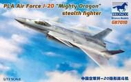 PLA Air Force J-20 'Mighty Dragon' stealth fighter #BOM7010