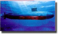 Bronco Models  1/350 USS SSN21/22 Seawolf Class Attack Submarine BOM5001