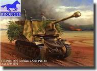 Bronco Models  1/35 German 7.5cm PaK 40 Auf GW H38/39 - Pre-Order Item BOM35004