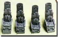 BUFF Master Design  1/72 B-52G/H Ejection Seats (4) BMDR72027