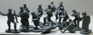 Caesar Miniatures Figures  1/72 Modern Special Forces Worldwide: Elite Police, Seal, Delta Force, Frogman (41) CMF61