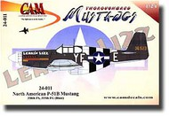 CAM Decals  1/24 Toroughbred P-51B Mustangs CMD24011